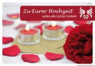 """Luminaria Laternen-Grußkarte """"Zu Eurer Hochzeit"""""""
