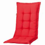 MADISON Dessin Panama Garten-Bankauflage, Sitzauflage, 75% Baumwolle, 25% Polyester, 110 x 48 x 8 cm, in rot