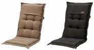 MADISON Dessin Rib Auflage für Relaxliege, Liegenauflage, 100% Polyester, 160 x 50 x 4 cm, in schwarz