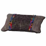 2 Stück MADISON Liza Zierkissen, 40 x 60 cm, 100% Baumwolle, in grau
