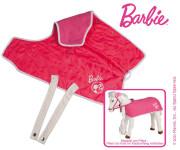 Mattel Barbie-2-in-1 Decke,von zwei Seiten nutzbar