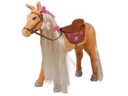 """Mattel Barbie-Pferd """"Tawny"""", mit Sound, beige mit heller Mähne"""
