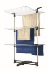 Metaltex Ciclone Turmwäschetrockner mit 3 Etagen, 40m Trocknerlänge, Alu-Rohre, Maß: 78 x 68 x 137 cm
