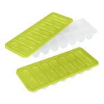 Metaltex Eiswürfelformer mit Deckel, aus Kunststoff, farbig sortiert