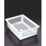 Metaltex Jumbo Kunststoffkorb weiß, 31,5 x 44,2 x 11,5 cm