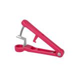 Metaltex Lady Kirsch Kirschenentsteiner aus Edelstahl/Kunststoff, 14,5 cm in pink