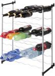 Metaltex Merlot Flaschenregal für 48 Flaschen