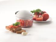Metaltex Rotomac - Der revolutionäre Zerkleinerer, Zwiebelhacker, auch für Gemüse, Obst