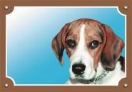 Nobby Warntafel Beagle, 1 Stück