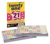NSV Twenty One Ersatzblöcke, insgesamt 156 Blatt, für Twenty One Würfelspiel, Made in Germany