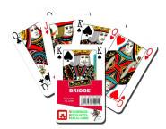 Nürnberger Spielkarten Bridge Classic internationales Bild im Klarsichtetui