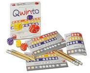 Nürnberger Spielkarten Würfelspiel Qwinto, erobert alle Spielerherzen, Made in Germany