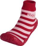 Playshoes Aqua-Socke Streifen rot/rosa, Größe: 18/19