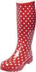 Playshoes Damen-Gummistiefel Punkte rot, Größe: 37