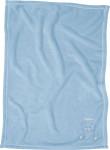 Playshoes Fleece-Decke Bär, Größe: 75 x 100 cm, bleu
