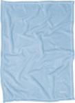 Playshoes Fleece-Decke uni, Größe: 100 x 150 cm, bleu