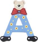 Playshoes Holz-Buchstaben A, farblich sortiert