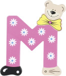 Playshoes Holz-Buchstaben M, farblich sortiert