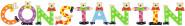 Playshoes Kinder Holz-Buchstaben Namen-Set CONSTANTIN - sortiert