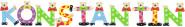 Playshoes Kinder Holz-Buchstaben Namen-Set KONSTANTIN - sortiert
