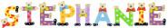 Playshoes Kinder Holz-Buchstaben Namen-Set STEPHANIE - sortiert
