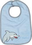 Playshoes Klett-Lätzchen Delphin