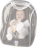 Playshoes Mückennetz für Baby-Trage weiß