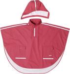 Playshoes Regen-Cape langer Rücken rot, Größe: 116