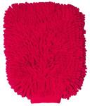 purclean Microfaser Handschuh - kombiniert Putzlappen und Staubwedel, pink