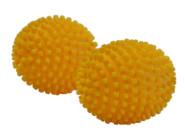 purclean 2er Set Trocknerbälle, flauschige Wäsche und ökologisch Weichspüler sparen