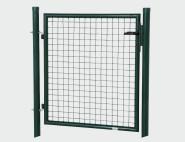 REWWER-TEC Gartentor 1000x1000 grün Aktion 50x50 Rundrohr