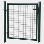 REWWER-TEC Gartentor 1250x1000 grün Aktion 50x50 Rundrohr
