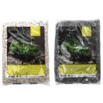 Rivanto® Bottle Gardens Drainagesteine, 5 Kg Sack, schwarz-weiß sortiert, Steingröße ca. 8-12 mm, Terrarium Steine
