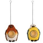 Rivanto® Erdnussbutterhänger Vogel, Vogelfutter, Futterstation, sortiert, L 19,8 x B 15,1 x H 21cm