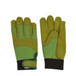 Rivanto® Garten Handschuhe Griff & Schutz Größe L, Pflanz- und Bodenhandschuhe für Garten und Beet, Arbeitshandschuhe mit Klettverschluss, atmungsakti