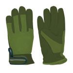 Rivanto® Garten Handschuhe Größe L, Pflanz- und Bodenhandschuhe für Garten und Beet, Arbeitshandschuhe mit Klettverschluss, atmungsaktiv