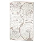 Rivanto® Gartenteppich Jahresringe 240 x 150 cm, rechteckig, farbig sortiert, Schuhmatte, Terrassenteppich, wasserresistent