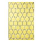 Rivanto® Gartenteppich Wabenstruktur 182 x 122 cm, rechteckig, farbig sortiert, Schuhmatte, Terrassenteppich, wasserresistent