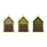 Rivanto® Grüntöne Serie Bienenhaus, farbig sortiert, verschiedene Grüntöne, hellgrün/grün/dunkelgrün, Farbwahl nicht möglich