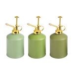 Rivanto® Grüntöne Serie Pflanzensprüher mit vergoldetem Kunststoff-Griff, farbig sortierte Grüntöne, hellgrün/grün/dunkelgrün, Farbwahl nicht möglich