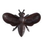 Rivanto® Gusseisen Futterschale Tierfigur Biene L 15 x B 20 x H 6,5