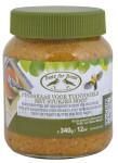 Rivanto® Vogelfutterglas Erdnussbutter für Wildvögel, ungesalzen, 340g, ca. 8,2 x 8,2 x 10,1 cm, Made in EU