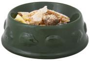 Rivanto® Igel Futterschale aus Keramik in grün, Ø 12,5 x 4,6 cm