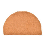 Rivanto® Kokosmatte extra dick, L 48,5 x B 77,5 cm, Stärke 4 cm Türmatte halbrund aus Kokosfaser, Tür Vorleger, Fussabstreifer, Schuhmatte