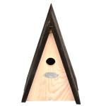 Rivanto® Nistkasten Wigwam aus Kiefernholz, 18,2 x 16,3 x 27,5 cm, Nistkasten, Futterhaus, Futterstation