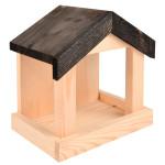 Rivanto® Wandfutterhaus mit Dach, aus Kiefernholz, 22,1 x 15 x 23,2 cm, einfache Montage