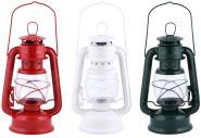 Rivanto® Windlicht Laterne aus Metall, 15 x 11,5 x H24 cm, Glas-Korpus, Terrassen Beleuchtung im Öl-Lampen Design