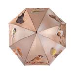 Rivanto® Wintervogel Regenschirm, Schirm, L 120 x B 120 x H 95 cm