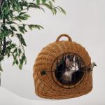 Rohrschneider Katzenkorb, Katzenbox, Katzentransportbox, Größe 2, Maße: ca. 41 x 50 x 41 cm