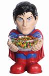 RUBIE'S Superman Candy Bowl Holder, Süßigkeitenspender, Halloween Deko Figur